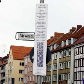 """Bild 04, aus """"malText 30169"""", ein Kunstprojekt von Guido Kratz und Maria Eilers aus Hannover"""