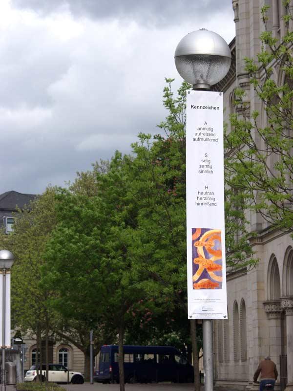 """Bild 9, aus """"malText 30169"""", ein Kunstprojekt von Guido Kratz und Maria Eilers aus Hannover"""