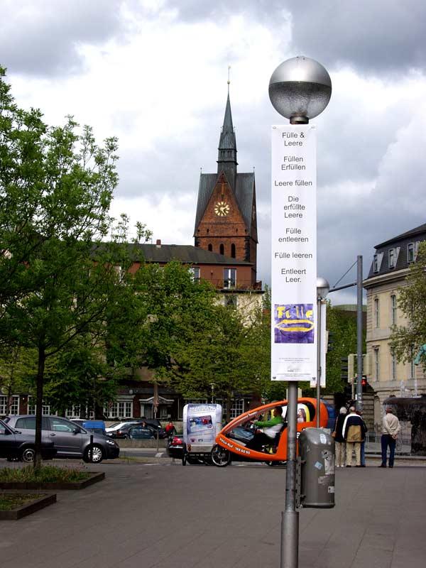 """Bild 10, aus """"malText 30169"""", ein Kunstprojekt von Guido Kratz und Maria Eilers aus Hannover"""