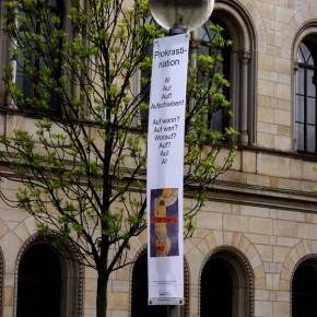 """Bild 11, aus """"malText 30169"""", ein Kunstprojekt von Guido Kratz und Maria Eilers aus Hannover"""