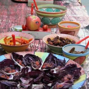 Rotes Essen - Ausstellung von Guido Kratz aus Hannover Bild 1
