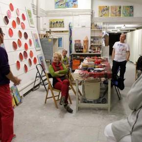Rotes Essen - Ausstellung von Guido Kratz aus Hannover Bild 4
