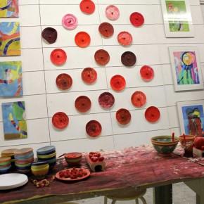 Rotes Essen - Ausstellung von Guido Kratz aus Hannover Bild 6