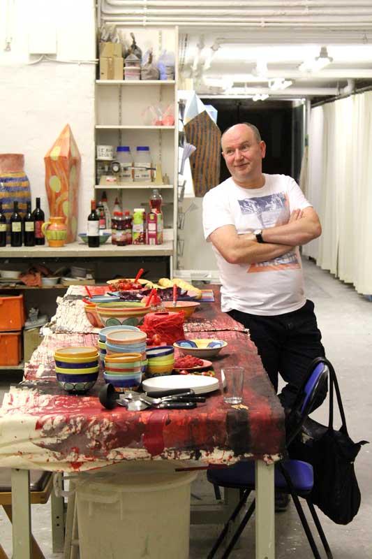 Rotes Essen - Ausstellung von Guido Kratz aus Hannover Bild 7